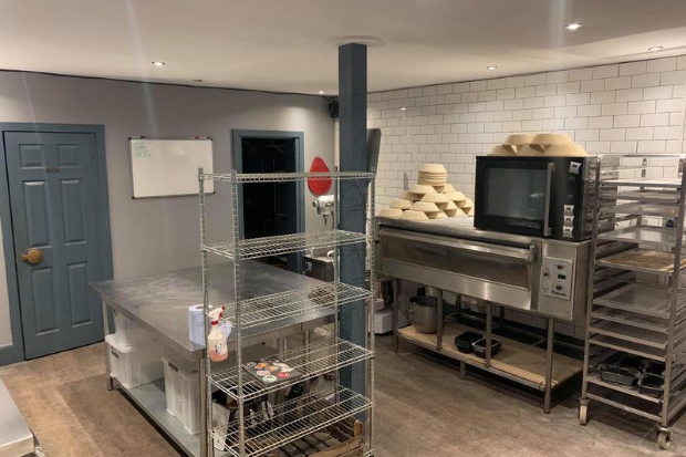 The Bakehouse, Nottingham kitchen